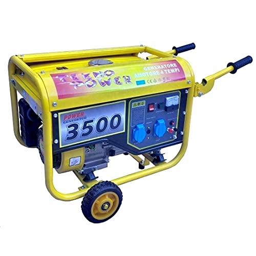 Gruppo elettrogeno/Generatore di corrente 2800W - 220V con ruote