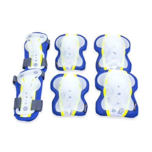 Spokey Sentinel Juego de Almohadillas Protectoras, Medio, Unisex, Color Azul, tamaño Medium
