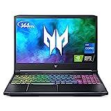 Acer Predator Helios 300 Gaming Laptop, Intel i7-11800H, NVIDIA GeForce RTX 3060 6GB, 15.6' FHD 144Hz 3ms IPS Display, 16GB DDR4, 512GB NVMe SSD, WiFi 6, American English Backlit RGB Keyboard