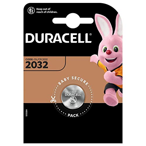 Duracell DL/CR2032 – Batterien (Lithium, Button/Coin, 3 V) Silber