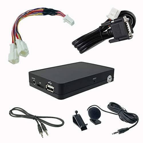 Bluetooth manos libres A2DP música streaming USB SD AUX adaptador para Lexus IS ES LS RX LX GX GS 6+6pin