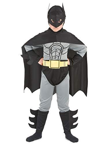 DEGUISE TOI Déguisement Super héros Homme Chauve-Souris garçon - L 10-12 Ans (130-140 cm)