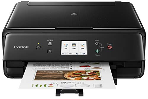 Canon 2986C002 PIXMA TS6220 Wireless All In One Photo Printer with Copier,...