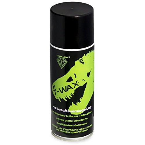 Preisvergleich Produktbild Carillow T-WAX Hartwachsversiegelung / in der Spraydose / einfach aufzutragen / für den schnellen Tiefenglanz / ideal für Autos,  Messeautos,  Show and Shine und Tuningtreffen schnellen Tiefenglanz haben möchten