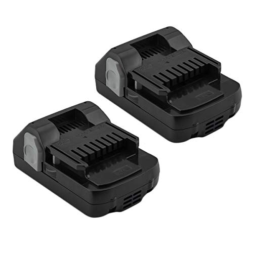 2Pack Creabest 18V 2.5Ah Li-ion Compatible with Hitachi BSL1815X BSL1815S BSL1830 BSL1830C 330139 330557 339782
