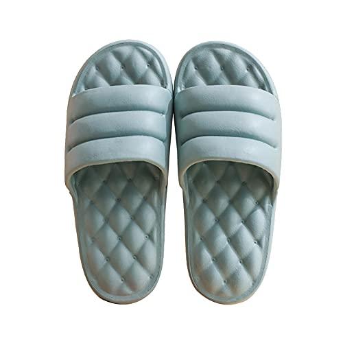 Zapatillas suaves de EVA con punta abierta, para mujeres y hombres, secado rápido, sandalias antideslizantes para la ducha, para interior y exterior