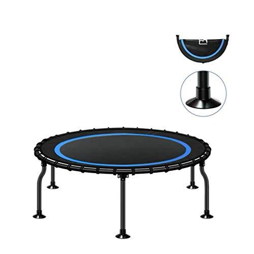 Intérieur Trampolines Fitness rebondeur Exercice Trampoline rebondeur de Charge Maxi 500 kg / 1100lbs 40 Pouces Convient for Adultes, Enfants (Color : Blue, Size : A)