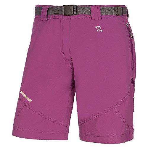 Trango Pant. Corto Assy Dn Short Homme, Violet (Morado Pasion), XL