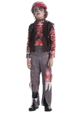 Zomboy - Halloween - Costume de déguisement pour enfants - Moyen - 132cm
