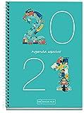MIQUELRIUS - Agenda Escolar Números Curso Lectivo 2020-2021, Castellano, Semana Vista, Tamaño...
