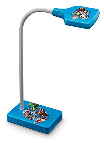 Philips 717703516 Avengers Luminaire Disney Avengers Lampe de Chevet LED Plastique Bleu 4 W