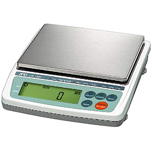 New - and A&D Everest EK-1200i Series Gold Silver Platinum Jewelry Weighing 1200G/0.1G Multi-Purpose Digital Scale - Legal for Trade