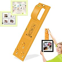 Hang It Perfect Picture Hanging Tool with Level for Marking Position Hang and Level Picture Hanging Tool Picture Hanger Tool Frame Hanger-Easy Wall Hang and Level Tools for Photo Frames,Artwork,Clocks