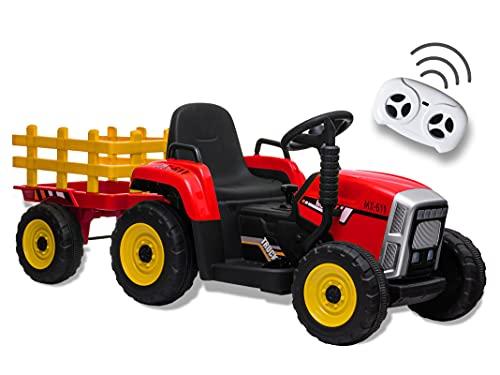 Teorema 66706 – Tractor eléctrico 12 V para niños con Luces, Sonidos,...
