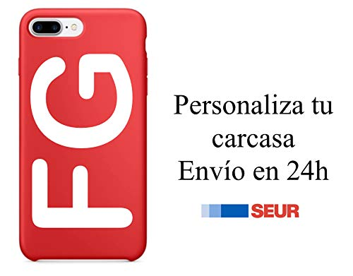 + Carcasas - Carcasa Personalizada ROJA iPhone 6, 6 Plus, 7, 8, 7 Plus, 8 Plus, X, XS, XR, XS MAX