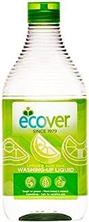 Ecover Ecologisch afwasmiddel citroen en aloë vera, verpakking van 6 stuks (6 x 500 ml)