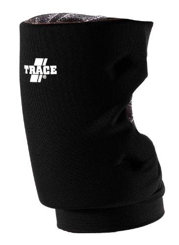 Adams USA Trace Short Style Softball Knee Guard (Medium, Black)
