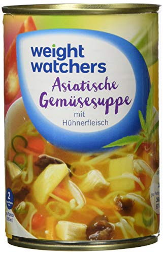 Weight Watchers Asiatische Gemüsesuppe, Dose, 3er Pack (3 x 395 ml)