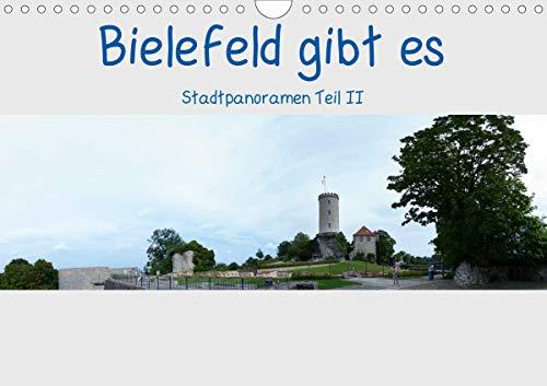 Bielefeld gibt es! Stadtpanoramen Teil 2 (Wandkalender 2021 DIN A4 quer)