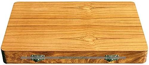 ITALFAMA Inlaid Wooden Folding Backgammon Set
