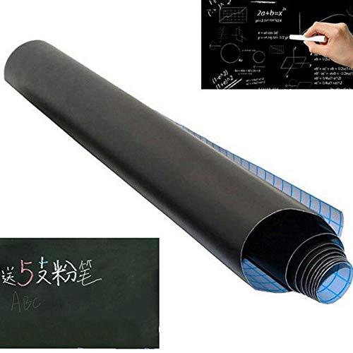 sdfrregf krijtbord 1 stuk krijtbord sticker afneembaar vinyl raad verwarmbaar Message Board 45 x 100 cm (zonder Gesso)