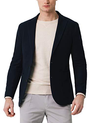 Scalpers Vicenza Blazer - Blazer para Hombre, Color Azul Marino, Talla 52