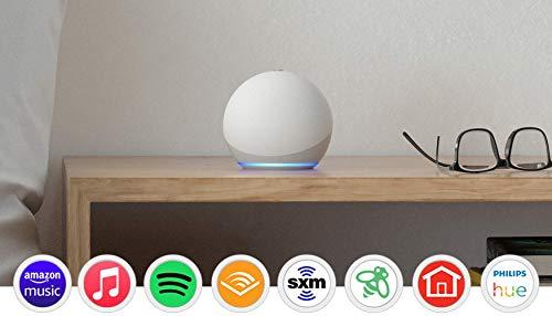 All-new Echo Dot (4th Gen)   Smart speaker with Alexa   Glacier White