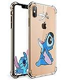 "Logee TPU Cute Cartoon Clear Case for iPhone Xs Max 6.5"",Fun Kawaii Animal..."