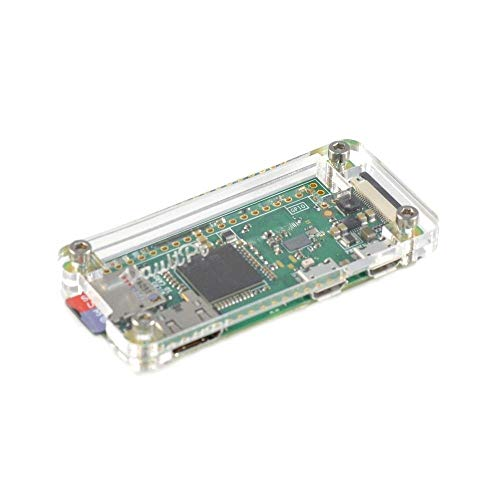 Electronic Module Clear Acrylic Case for Raspberry Pi Zero & Zero W 5PCS