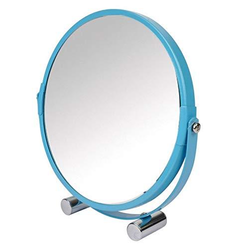 Paris Prix - Miroir à Poser Grossissant Vitamine II 17cm Bleu