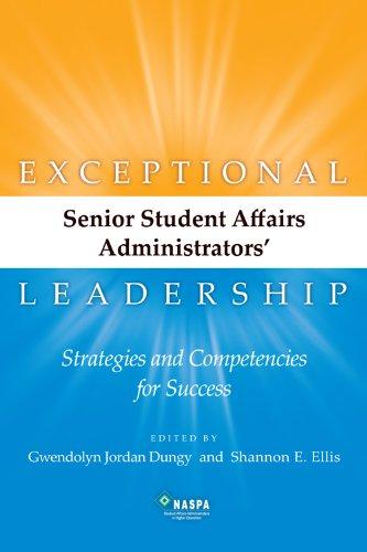 Exceptional Senior Student Affairs Administrators...
