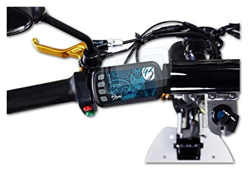 Bruni Protecteur d'écran Compatible avec eFlux Freeride X2 Film Protecteur, Cristal Clair Écran Protecteur (2X)