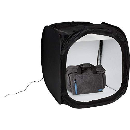DÖRR Lichtzelt/Aufnahmebox LB-6575 LED schwarz 65x75cm