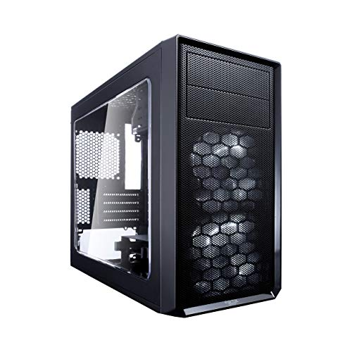 Fractal Design Focus G Mini Black Window, PC behuizing (Midi Tower met zijraam) Case Modding voor (High End) Gaming PC, zwart