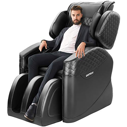 OOTORI 2020 New Massage Chair, Zero Gravity & Shiatsu Function Chair, Full Body Massage Recliner with Lower-Back Heating / Foot Roller