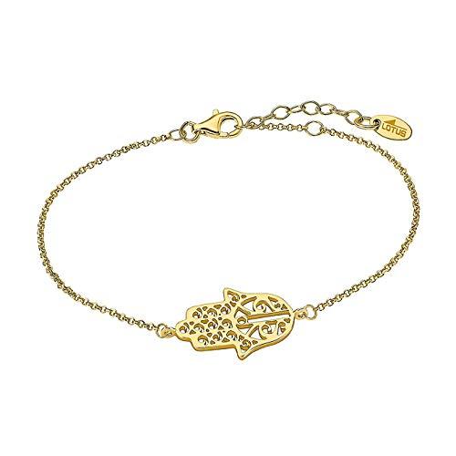Lotus Silver Armband Damen LP1849-2/3 Hand der Fatima 925 Silber D1JLP1849-2-3 Silber Armschmuck von Lotus Silver für die Frau