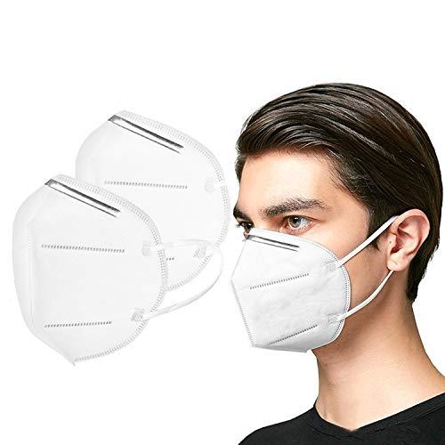 ouruanyang Algodón 10Pc Anti-contaminación a Prueba de Polvo Lavable y Reutilizable Unisex