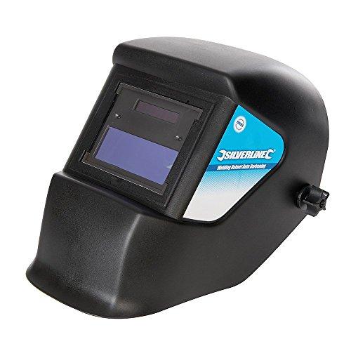 Toolstream Silverline 934295Masque de soudeur auto-obscurcissant DIN3 11 16