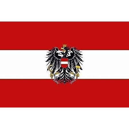 U24 Aufkleber Österreich Mit Adler Flagge Fahne 8 X 5 Cm Autoaufkleber Sticker Auto