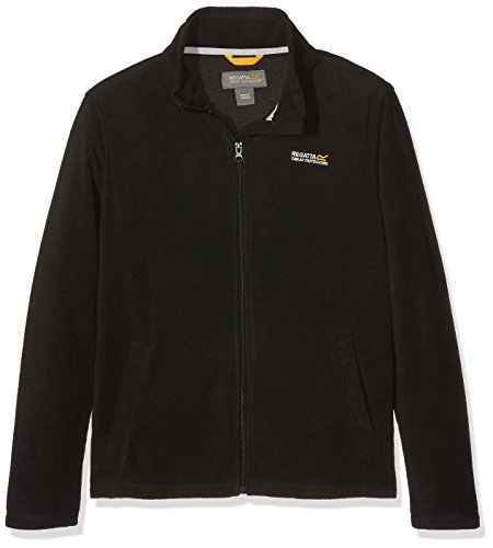 Regatta Polaire Junior King II Fleece Mixte Enfant, Black/Black, FR : XL (Taille Fabricant : 9-10)