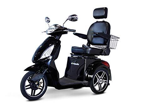 Great Deal! Ewheels 3-Wheel Scooter with Electromagnetic Brakes Black