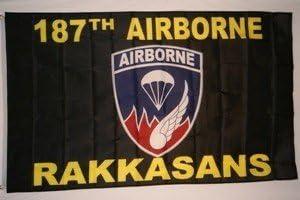 NEOPlex 187th Airborne Flag Traditional SALENEW very Phoenix Mall popular Rakkasans