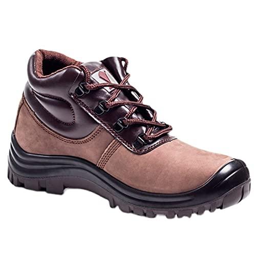 HOUJIA Zapatos de Trabajo,Botas de Seguridad con Punta de Acero Hombre,Sra Antideslizante Anti Estático Zapatos de Seguridad Zapatos Seguridad,Anti-Piercing Antideslizante,220mm-280mm