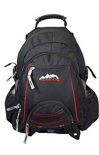 Ridge 53 Waterproof Bolton Unisex Outdoor School Bag available in Black - One Size