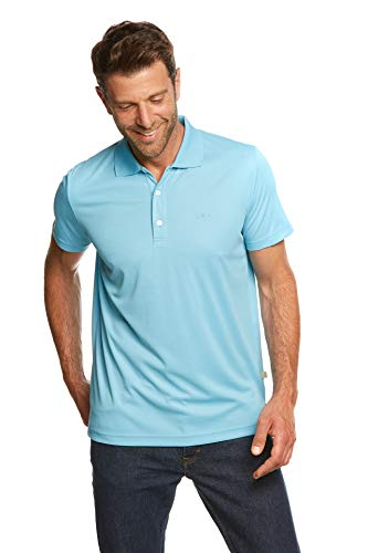 Jeff Green Eclipse Polo respirant pour homme M Light Cloud