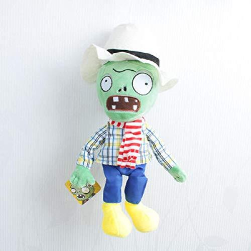 XINGSHENG Peluche Juguete Zombie Plants vs.Zombies Peluches Girasol Ice Pea Sagittarius Vegetable Questioning Doll Ragdoll Fruit Doll