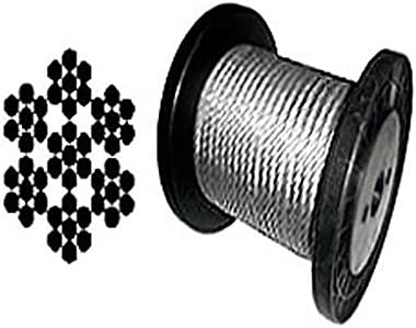 7 x Galvanized Aircraft Cable Wire Rope 250 500 55% OFF Cheap mail order specialty store 32