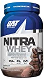GAT Sport Nitra Whey Testosterone Support Shake, Chocolate Ice Cream, 25 Servings