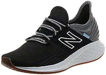 New Balance mens Fresh Foam Roav V1 Sneaker Black/Light Aluminum 10.5 US