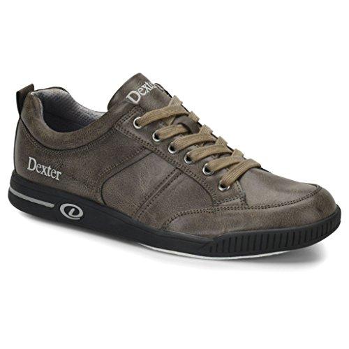 Dexter Mens Dave Bowling Shoes- 11 1/2, Grey, 11.5